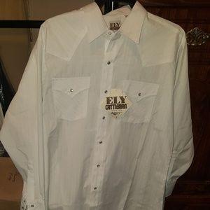 Ely Cattleman Shirts - # Cowboy Chic Ely Cattleman Mens Snap shirt NWT